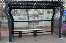 Slikovni rezultat za solarna autobusna stanica