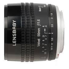Купить <b>Объектив Lensbaby Velvet 56mm</b> Micro 4/3 по выгодной ...