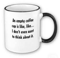 Bildresultat för empty coffee cup