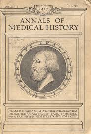 so what s new in the past the multiple meanings of medical title page of volume 1 of annals of medical history it features an oval sculture