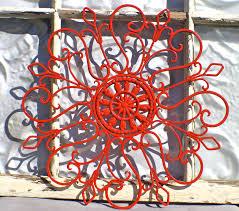 iron wall decor u love: large outdoor metal wall art ad studios