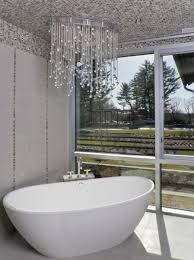 1000 images about bathroom chandeliers on pinterest bathroom chandelier chandeliers and clear crystal bathroom chandelier lighting