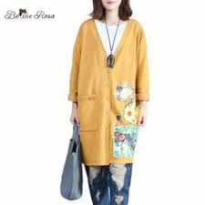 Click to Buy << <b>2016 Autumn</b> New <b>Korean</b> Retro Long Denim Coat ...