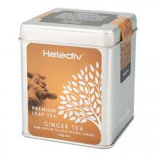 <b>Чай Heladiv</b> Ginger <b>Tea</b> (Имбирный <b>чай</b>) <b>черный</b> листовой, ж/б ...
