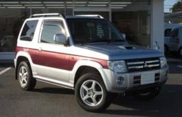 Image result for mitsubishi pajero mini