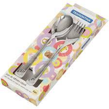 <b>Набор детских столовых приборов</b> Tramontina Baby 66970/030 ...
