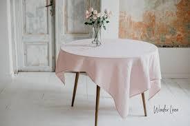 <b>Home</b> & Living Kitchen & Dining <b>Linen</b> tablecloth Washed <b>soft linen</b> ...