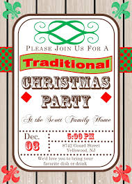christmas cocktail party invitations large selection  christmas cocktail party invitations