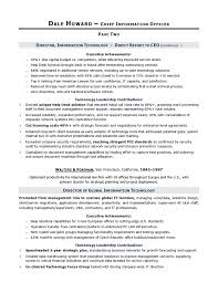 cio sample resume  chief information officer resume  it resume    cio sample resume by executive resume writer