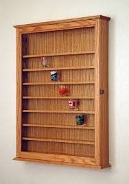 cabinets uk cabis:  oak shot glass display case cabinet