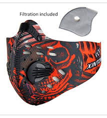 Carbon <b>Dustproof Mask Anti-Dust Mask</b> Motorcycle <b>Bicycle Cycling</b> ...