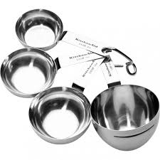 jpg stainless steel kitchen aid kitchenaid tally stainless steel measuring cup set of jpg