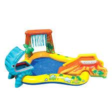 Купить надувной бассейн - <b>игровой центр Intex Динозавр</b> 249 ...