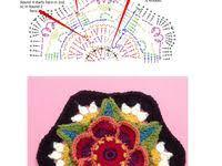 Вязаные цветы: лучшие изображения (28) | Crochet Flowers ...