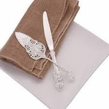 Online Shop Silver Wedding Cake Shovel Cake Knife Fork set ...