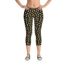 Candy Corn <b>Pattern</b> - Leggings Capri or Full Length - Funny ...