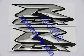 Free Shipping!Decals Stickers <b>L&R SIDES</b> EMBLEM FOR R-GSX ...