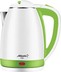 Купить <b>электрический чайник Atlanta ATH</b>-2437, Металл/пластик ...