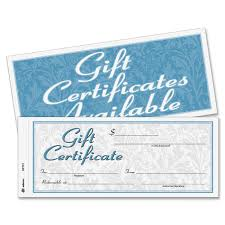 awards certificates amazon com office school supplies adams gift certificate book carbonless single paper 3 4 x 8 inches white 2 part 25 numbered certificates plus store sign gftc1