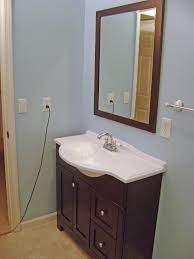 Vanities For Bathrooms How To Finish A Basement Bathroom Vanity Plumbing
