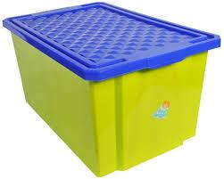 <b>Little Angel Ящик для</b> игрушек на колесах 57 л цвет фисташковый ...