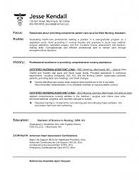 resume certifications sample sample resume for certified nursing assistant no experience sample resume for certified nursing assistant no experience