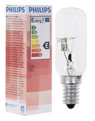 <b>Лампа</b> накаливания <b>Philips</b> Appliance 40W E14 T25L для <b>вытяжки</b>