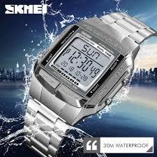 <b>SKMEI</b> Military Sports Watches Waterproof <b>Mens</b> Luxury Clock ...