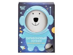 <b>Roxy Kids</b> R-NL0025 <b>Силиконовый ночник</b> на бат. Polar Bear ...