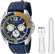 Nautica Men's N09915G Sport Ring Multifunction ... - Amazon.com
