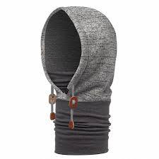<b>Капюшон Buff</b> Polar Thermal Hoodie Melange Grey - купить в КАНТе