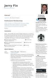 product manager resume samples   visualcv resume samples databaseproduct manager electronics resume samples