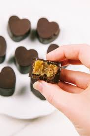 Raw <b>Salted Caramel Chocolates</b> - Wallflower Kitchen