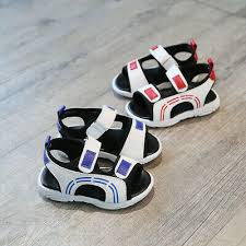 <b>2019 Summer</b> Baby <b>Boys Sandals</b> Anti-slip Toddler Beach Shoes ...