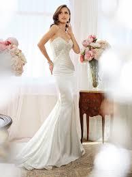 fantastic a line one shoulder chapel ruffling appliques 2015 modern mermaid sweetheart beach destination wedding dresses applique