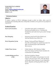 hvac resume hvac project  seangarrette cosyed imtiyaz ahmedcovering letter and cv    hvac resume