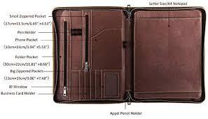 Professional Organizer <b>Men</b> & <b>Women</b> | <b>Durable</b> Leather Padfolio