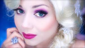 elsa inspired makeup from disney 39 s frozen charisma star