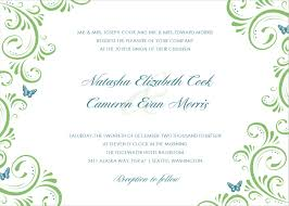 template for invitations invitation template green floral wedding invitation template please this website