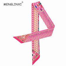2018 New <b>Geometric</b> Floral Print <b>Silk Scarf Women Luxury</b> Brand ...