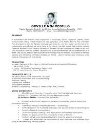 software testing resume the most elegant software fresher sle qa cover letter software testing resume the most elegant software fresher sle qa tester resumessoftware tester resume
