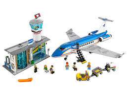 LEGO® Construction manual:<b>Airport Passenger Terminal</b> 60104