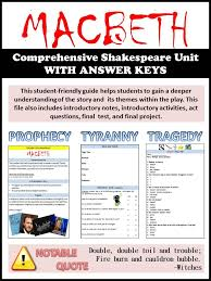 ideas about macbeth analysis on pinterest   english and the    this student friendly guide helps students to develop a deeper understanding of macbeth and its