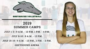 Greyhound Volleyball To Host Annual <b>Summer</b> Camps - Eastern ...