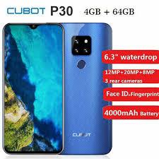 "<b>Cubot P30</b> 6.3"" 4+64GB Android 9.0 Octa Core <b>4G Smartphone</b> ..."