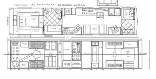 floor plan thought equity motion architecture amusing school bus conversion aka skoolie floor plan drawing wee trailers and