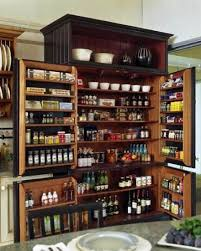 large kitchen pantry cabinet storage amazing solid brown combine dark polished wooden kitchen pantry cabine