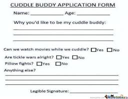 Who Want's To Be My Cuddle Buddy? by rockgirl - Meme Center via Relatably.com