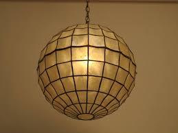 mid century capiz shell light fixture 2 capiz lighting fixtures
