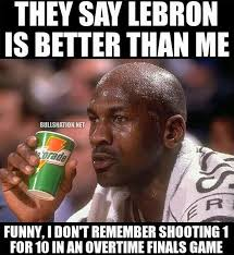 Michael Jordan on LeBron James' OT performance. #Bulls #Cavs ... via Relatably.com